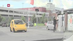 Train Horn On A Small Electric Car – Funny Prank!