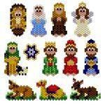 12 x Nativity Charms Pattern - pattern is $6 PDF download