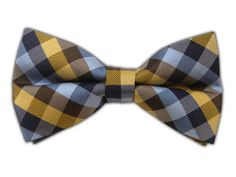 Colorful Gingham - Beach (Bow Ties) || BowTie - Colorful Gingham - Beach (Bow Ties)