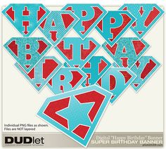 Free Printable Birthday Banners   Super Banner   Printable DIY Birthday Banner Printable Birthday Banner, Diy Birthday Banner, 5th Birthday Party Ideas, Diy Banner, Card Birthday, Banner Template, Birthday Parties, Happy Birthday Banner Background, Happy Birthday Signs