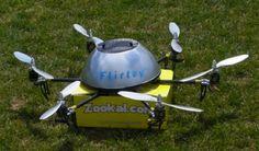 Book delivery drone Zookal Flirtey