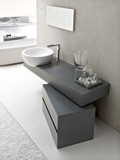 Elegant Minimalist Bathroom Furniture With Natural Materials #Bathroom_Furniture #Top_Pinned_Bathroom_Furniture #Best_Bathroom_Furniture