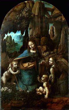 Leonardo da Vinci - La Vergine delle Rocce, London