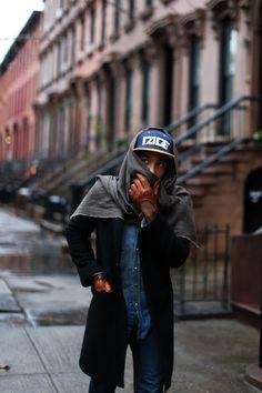 jacket scarf coat hat cap fashion jeans denim gloves style streetstyle men tumblr new york