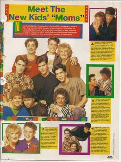 NKOTB and their moms article