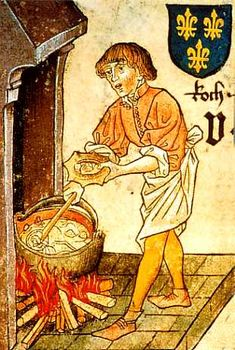 Image result for cartoon cooking medieval pot
