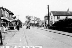 The High Street, Canvey (Francis Frith photo) Street View, Island, Places, Block Island, Islands, Lugares