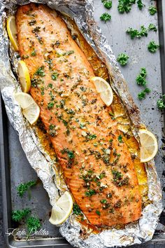 From salmon en croute (what?) to salmon pasta and foil-cooked salmon fillets, here's a few things to do with the yummiest fish.