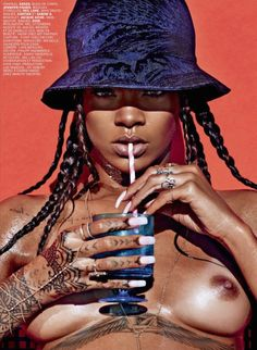Rihanna by Mario Sorrenti for Lui Magazine May 2014 5