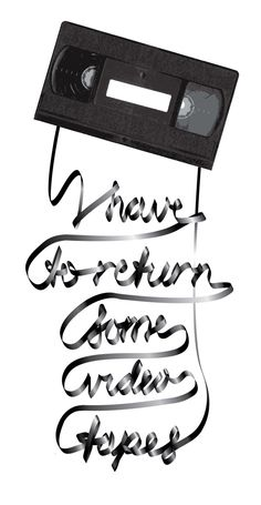 - Patrick Bateman in American Psycho (2000) I have to return some video tapes. This is my excuse for everything now.