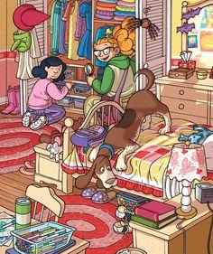 (2015-05) Hvad laver de i soveværelset?