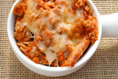 Ah, there's nothing like comfort food at it's finest on a gloomy day.      Baked ziti is just one ...