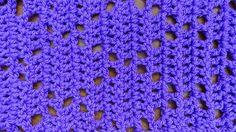 Offset Triangle Stitch - Crochet Tutorial