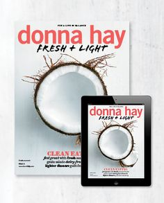 donna hay fresh + light magazine issue #3