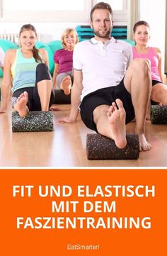 Blackroll-Übungen mit Prof. Ingo Froböse und Vanessa Blumenthal ...