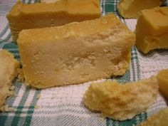 Make Salt Soap Bars: An Easy Photo Tutorial: Cut the Soap SOON!
