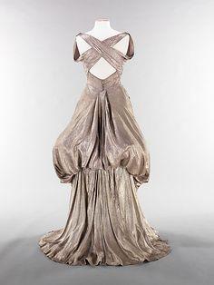 Charles James evening dress ca. 1944