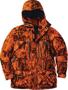 Cabela's Men's Blaze Silent-Suede Parka with Thinsulate and DRY-Plus - Zonz Woodlands Blaze Men's Hunting Clothes, Hunting Gear, Deer Hunting, Camo Outfits, Fishing Accessories, Cold Weather, Parka, Raincoat, Men Sweater