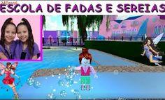 ESCOLA DE FADAS E SEREIAS - PLANETA DAS GÊMEAS GAMES - ROBLOX