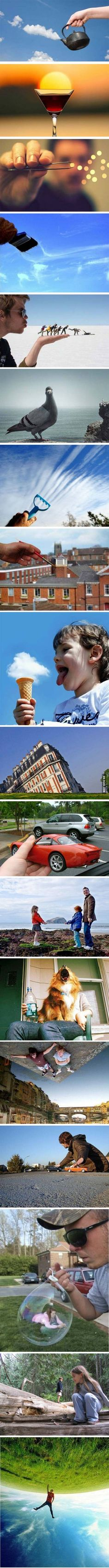 Forced Perspective - 9GAG
