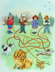 Illustration commissioned by BBC Children's Publications for 'Playdays' magazine.