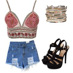 Untitled #270 by sophia-solzbacher on Polyvore featuring polyvore fashion style Glamorous maurices