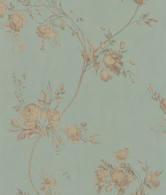 Colefax and Fowler Darcy Eau de Nil Wallpaper main image