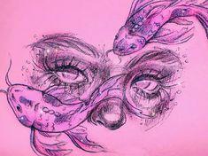 Art Painting, Sketches, Cool Art Drawings, Art Sketchbook, Cute Art, Drawing Sketches, Art Reference Photos, Art Sketches, Aesthetic Art