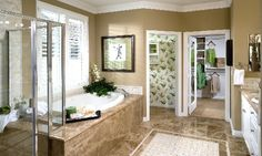 Master Bathrooms Modern Bathroom