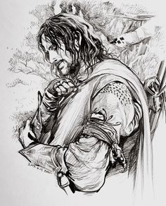 Aragorn by Evankart Boromir's arm guard