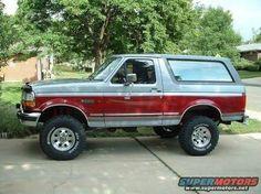 Resultado de imagen para 1991 ford bronco 4' lift
