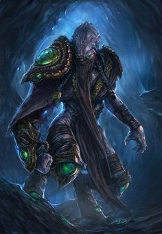 Zeratul by TheChaoticKnight on DeviantArt