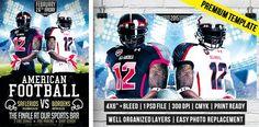 American Football – Premium Flyer Template #exclusiveflyer #Football #psd #flyertemplate http://www.exclusiveflyer.com/premium-templates/american-football-premium-flyer-template/