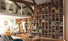 Having a library in your home creates a personal place, a wonderful retreat from everyday problems