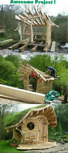 Amazing Shed Plans - How To Build A Shed Free Videos Cheap Shed Plans - Now You Can Build ANY Shed In A Weekend Even If You've Zero Woodworking Experience! Start building amazing sheds the easier way with a collection of shed plans! Outdoor Projects, Garden Projects, Diy Projects, Garden Crafts, Pallet Projects, Woodworking Projects Diy, Woodworking Plans, Woodworking Furniture, Woodworking Shop