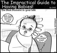 baby humor cartoon - The Impractical Guide to Having Babies!