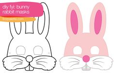 Rabbit Bunny Mask Printables
