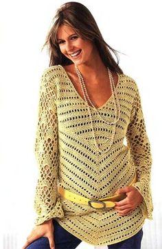 Uncinetto d'oro: Tunica lunga!   free pattern