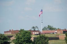"""Fort McHenry defended Baltimore against the British in the War of 1812. It is also the birthplace of the """"Star-Spangled Banner."""""""