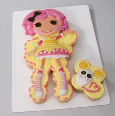 lalaloopsy cake topper -- walmart