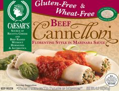 Just tried the CHEESE version (not this  beef version)  and I really loved it. I added steamed broccoli on the side and was stuffed! Will buy it again! Caesar's Gluten Free Pasta