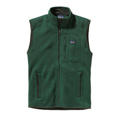Patagonia Men's Better Sweater Vest - Warmth without bulk, our Better Sweater Vest has a wool-like knit face, luxurious fleece interior and the rugged durability of polyester fleece.