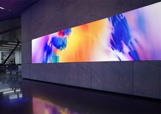 """Dolby Laboratories commissioned German studio Onformative to create """"Collide"""", a synaesthetic art installation that transforms recorded motion data into abstract visuals and sound .  """"Surreal visuals and an engaging soundscape create an immersive space capturing the essence of motion, colour and sound to visualize a synaesthetic experience of letting go and losing oneself in the creative process."""