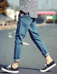 Men's Wear / Men's Jeans / Street Style