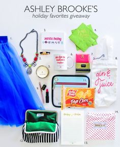 Ashley Brooke's Holiday Favorites Giveaway 2013