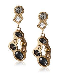 Tat2 Designs Gold Cluster Drop Earrings, http://www.myhabit.com/redirect/ref=qd_sw_dp_pi_li?url=http%3A%2F%2Fwww.myhabit.com%2Fdp%2FB0158I2N44%3F