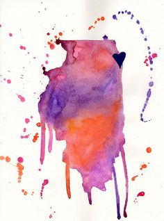 Original Chicago Illinois watercolor state by SamsSimpleDecor