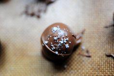 Chocolate Truffles with Sea Salt