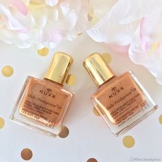 Love this nuxe shimmer oil! Hurry up summer