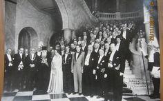 Regele Carol II, Marele Voievod de Alba Iulia, Principele Mihai, Principesa Elisabeta (fosta regina a Greciei) si Nicolae Iorga Romanian Royal Family, Queen Victoria, Amen, Concert, Romans, Greece, Emperor, King, Concerts